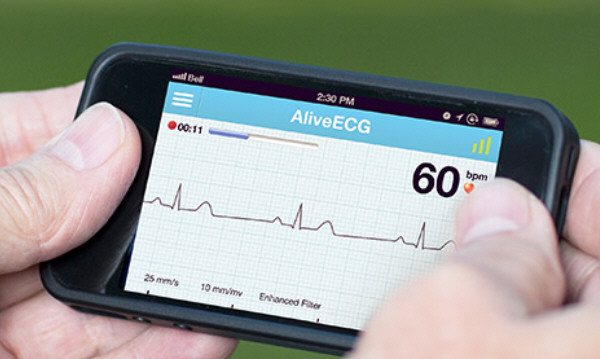 alivecor AliveCor   turn your phone into a pro grade heart monitor and ah ah ah ah...staying alive...