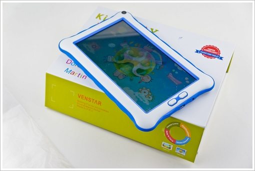 dsc04474 1 Venstar Childproof Android 7 Inch Tablet   cute $59 password protected tablet for the kids [Review]