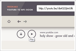 freemakefreeyoutubetomp3boom7 Freemake Free YouTube to MP3 Boom   instant fast conversion of YouTube to MP3 audio tracks [Freeware]