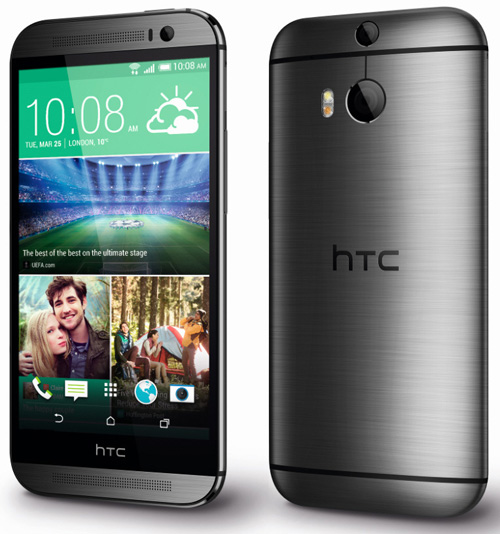 htconem8b HTC One M8 first look   gorgeous looking Android ultra handset [Review]
