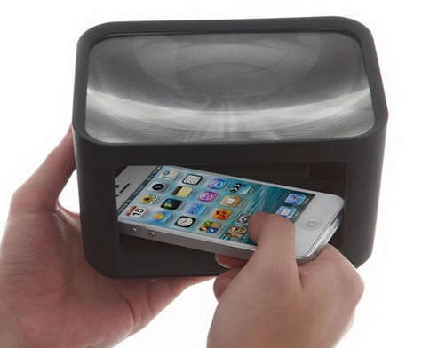 minicinemaforiphone5 1 Mini Cinema for iPhone 5   turn your phone into an instant portable movie theater