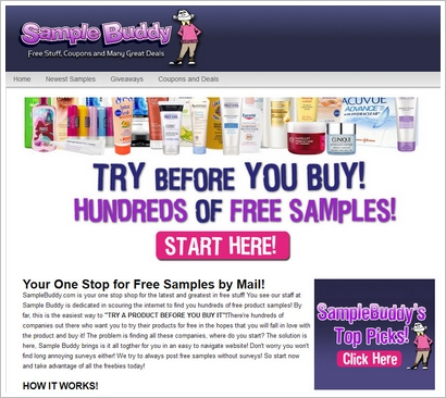 samplebuddy The Cheapskates Guide To Getting Free Stuff