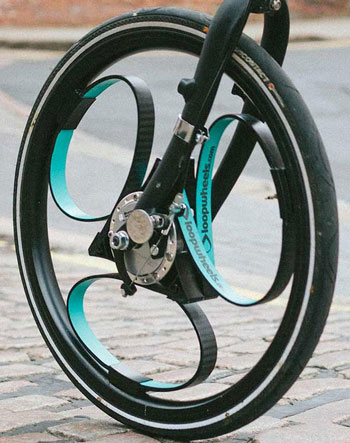 loopwheel2 Loopwheels   reinventing the wheel to make cycling more comfortable