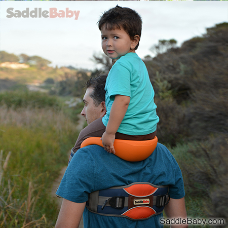Gallery 5 Saddlebaby Shoulder Carrier   because your kid deserves the throne