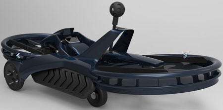 aerofex4b Aero X Hovercraft   the crazy new school way of getting around