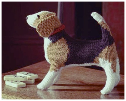 knityourowndogkit2 Knit Your Own Dog Kit   a perfect DIY best friend