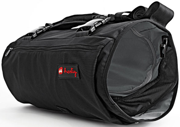 wingman4 Wingman   sports bag, garment bag, laptop case and waterproof rucksack all in one