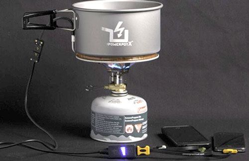 powerpotX2 The PowerPot X: New Faster Charger Powers Your Apple While It Cooks Your Beans