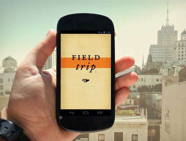 Field Trip Phone Field Trip – free app helps you explore places one cool and unique thing at a time [Freeware]