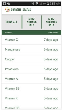 nutrihawk3 NutriHawk   keep tabs on your essential vitamins and minerals [Freeware]