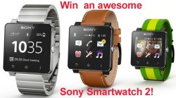 Red Ferret Summer Giveaway 2 – win a fabulous Sony SmartWatch 2 [Giveaway]
