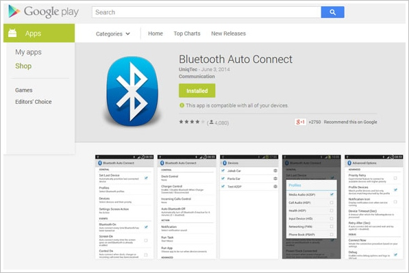 bluetoothautoconnect3 Bluetooth Auto Connect   an awesome cure if youre fed up with your Bluetooth gadgets not connecting properly [Freeware]