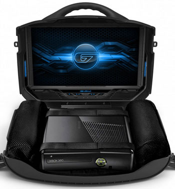 gaemsvanguard4 GAEMS Vanguard   dont let your console languish under the TV, get it out there gaming...