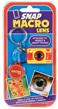 snapmacrolens Snap Macro Lens – take cool macro photos with this whimsical smartphone attachment