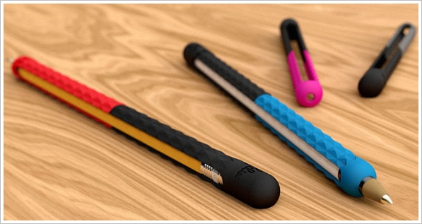 stretchwrite1 StretchWrite   instantly turn your pen or pencil into a digital stylus with this clever sleeve