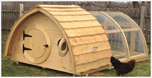 Hobbit Chicken Coop – add a little bit of the Shires to your garden