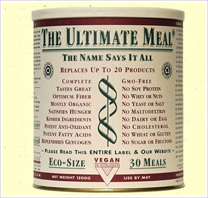 The Ultimate Meal – no synthetics, just some grand old organic nutrition and nourishment at $3 a meal