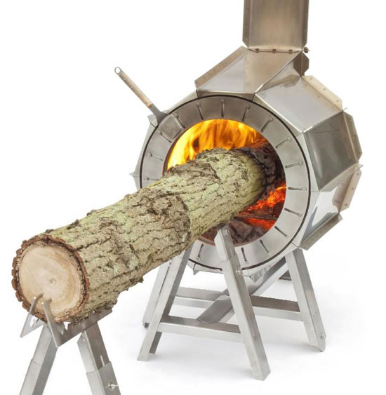 Spruce Stove – stay warm in style, as long as you have the space