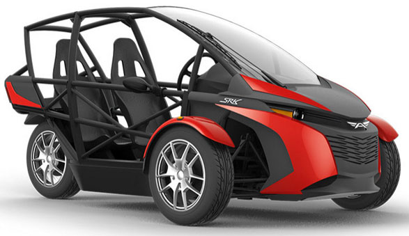 Arcimoto – electric fun trike