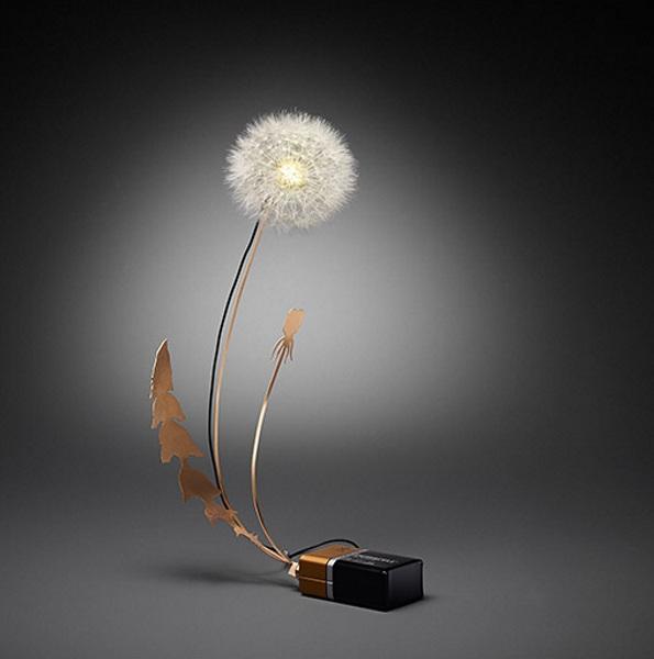Dandelight Dandelight – the little light pretty enough to be a flower