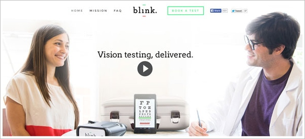 Blink – revolution comes to the eye test business