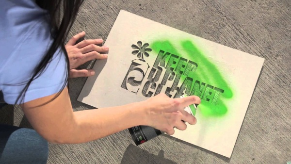 MTN Chalk – spray paint that wipes right off