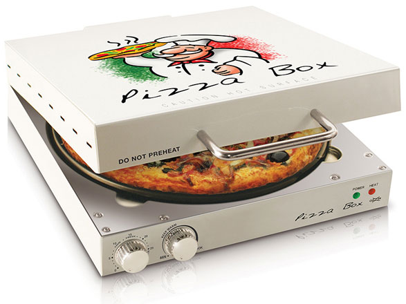 Pizza Box Oven – welcome to the tiny 10 minute pizza maker