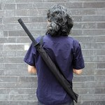 Samurai Sword Umbrella – will protect you from enemies if they are raindrops [Review]
