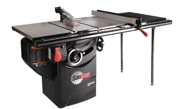 SawStop Professional Cabinet Saw – keep your fingers safe