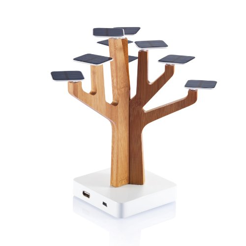Suntree – the tree that turns sunlight into power for your phone
