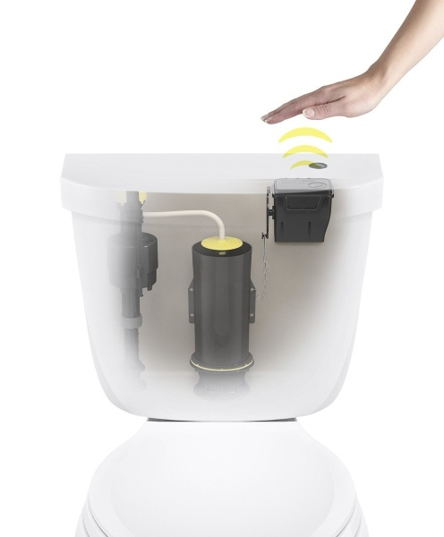 Touchless Toilet Flush Kit – never forget to flush again