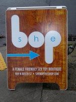 This way to She Bop!