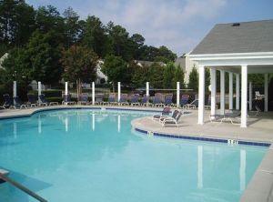 swimming pool at Fairmont in Milton GA