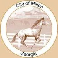 logo for city of milton ga