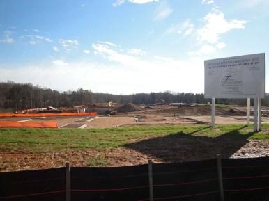 milton ga bethany bend high school construction site