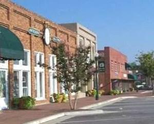 Alpharetta GA downtown Main Street