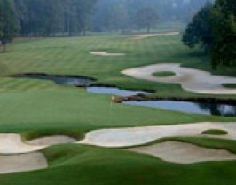 Atlanta National golf course in Milton GA