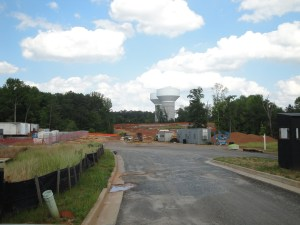 photo of stadium site for new Bethany Bend high school