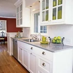 home staging to sell in the kitchen