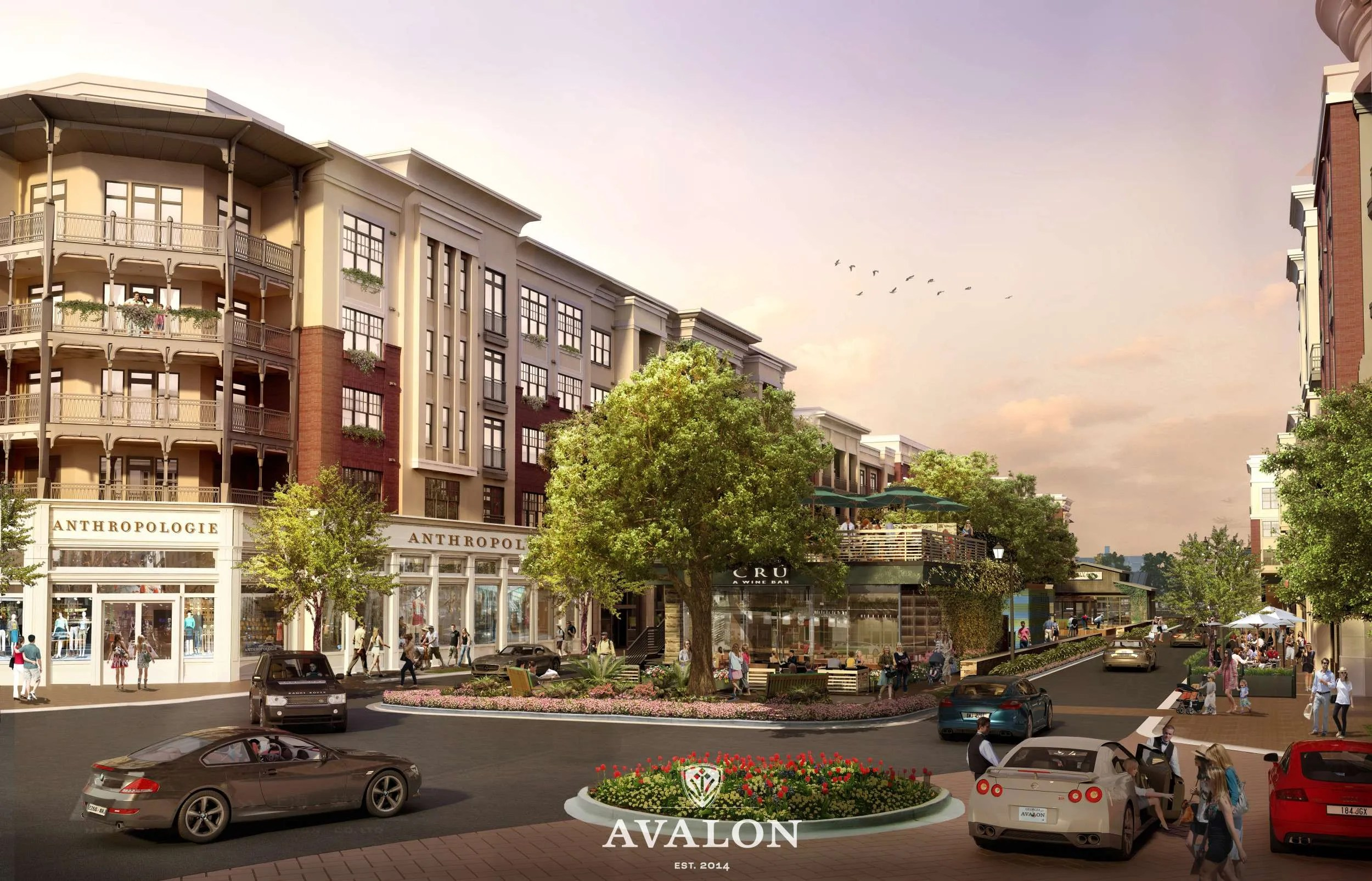 Ford Mall Of Ga >> Alpharetta Welcomes New Stores in Avalon Opening October 2014