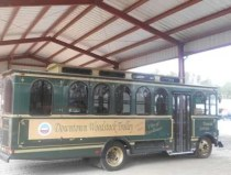 trolley route to Woodstock Outlet