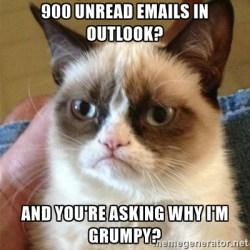 Emails-Grump Cat