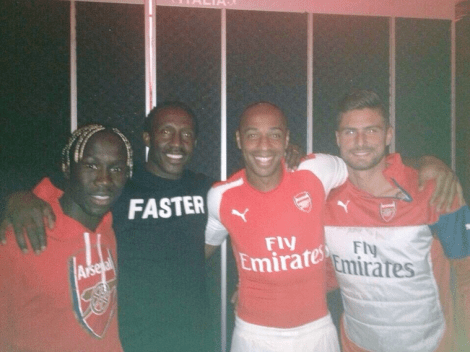 henry and giroud spotted