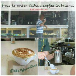 how to order Cuban coffee in Miami RedOstelinda.com