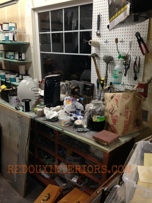 Messy Work bench