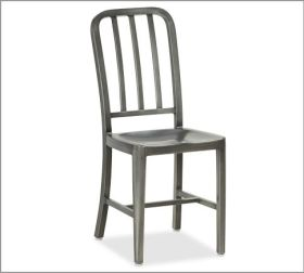 Wyatt PB chair in Pewter