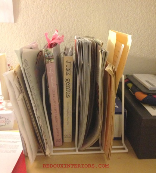 File holder after
