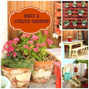 How to Decorate a Patio with Junk