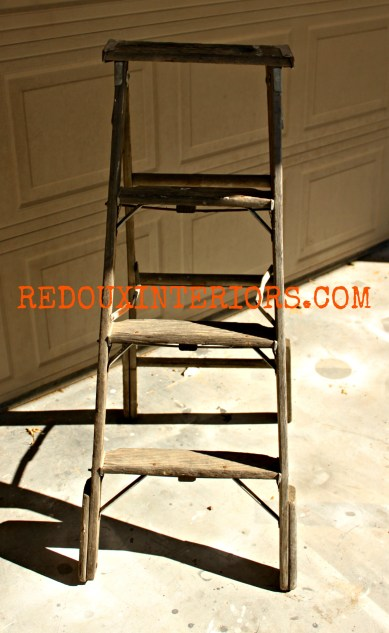 Ladder from Dumpster