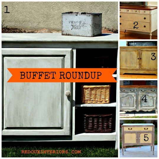 Buffet Collage Redouxinteriors